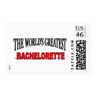 El Bachelorette más grande del mundo Sellos