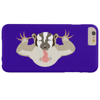 El Badger_Classic_purple que acosa Funda De iPhone 6 Plus Barely There