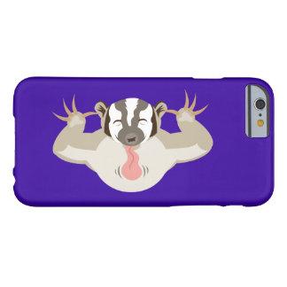 El Badger_purple que acosa Funda De iPhone 6 Barely There