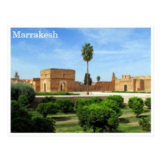 el badi marrakesh postcard