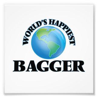 El Bagger más feliz del mundo Impresion Fotografica