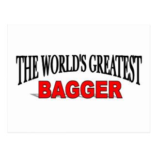 El Bagger más grande del mundo Postal