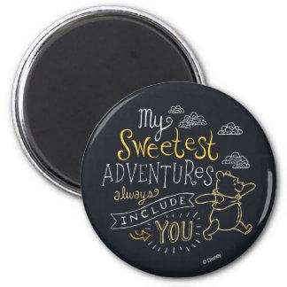 El bah | mis aventuras más dulces imán redondo 5 cm