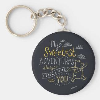 El bah | mis aventuras más dulces llavero redondo tipo pin