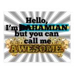 El Bahamian, pero me llama impresionante Postal