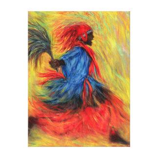 El bailarín 1998 impresión en tela