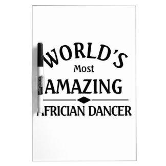 El bailarín africano más asombroso del mundo pizarras blancas