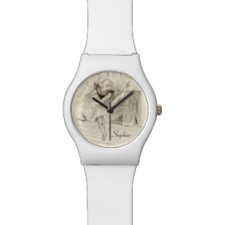 El bailarín de ballet, Toulouse-Lautrec Relojes De Pulsera
