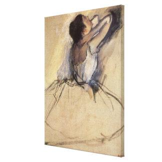 El bailarín de Edgar Degas, arte de la bailarina