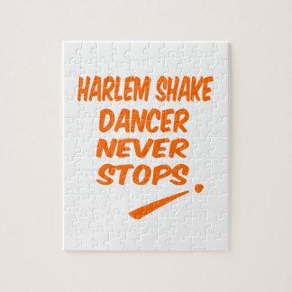El bailarín de la sacudida de Harlem nunca para Rompecabeza Con Fotos