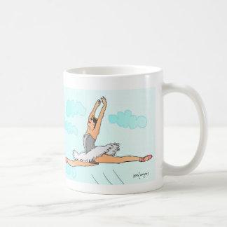 el bailarín divino y el gato taza de café