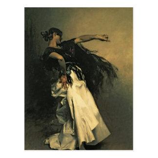 El bailarín español estudio para el EL Jaleo 1 Tarjeta Postal