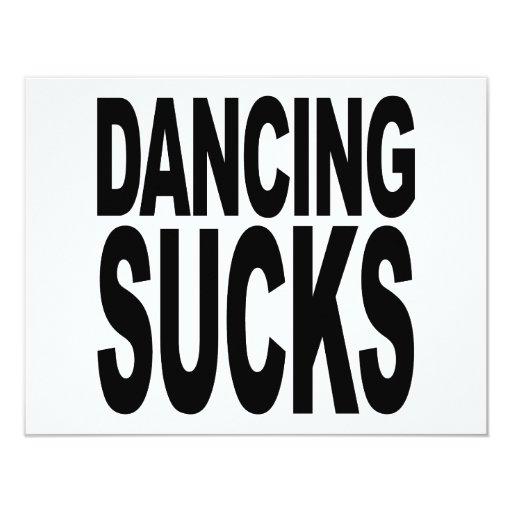 """El baile chupa invitación 4.25"""" x 5.5"""""""