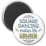 El baile cuadrado es de oro iman