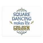 El baile cuadrado es de oro postal