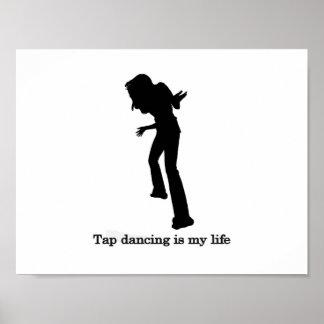 El baile de golpecito es mi vida póster