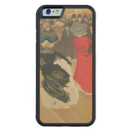 El baile de las mujeres Poder-Puede Funda De iPhone 6 Bumper Arce