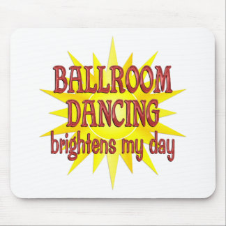 El baile de salón de baile aclara mi día alfombrillas de raton