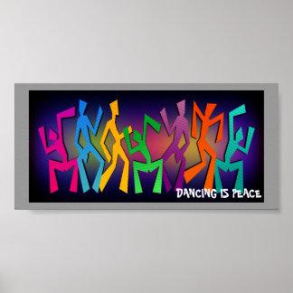El baile del arco iris figura el poster