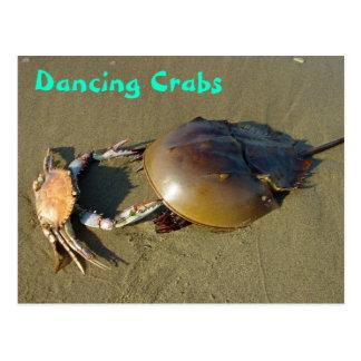 El baile divertido critica despiadadamente la post tarjetas postales