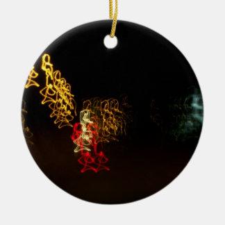 El baile enciende el ornamento ornamentos de reyes magos