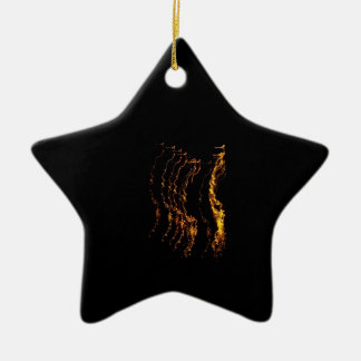 El baile enciende el ornamento adorno de navidad