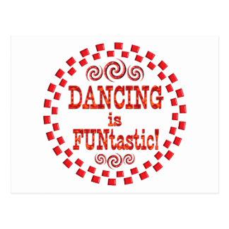 El baile es Funtastic Postal