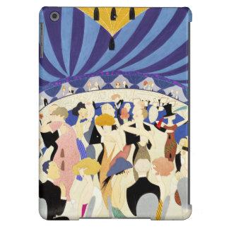 El baile junta el poster 1921 del vintage funda para iPad air