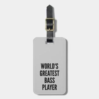El bajista más grande de los mundos etiquetas maleta