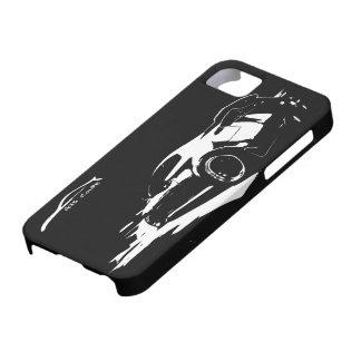El balanceo del cupé G35 tiró con el logotipo blan iPhone 5 Case-Mate Coberturas