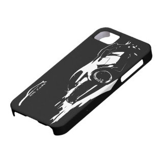 El balanceo del cupé G35 tiró con el logotipo iPhone 5 Case-Mate Coberturas
