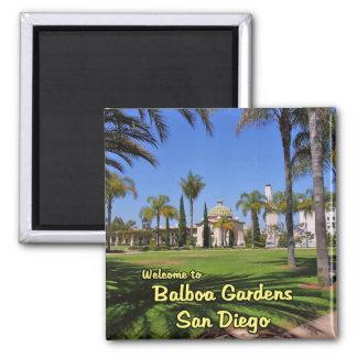 El balboa cultiva un huerto San Diego California Imán Cuadrado