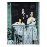 El balcón, 1868-9 postal