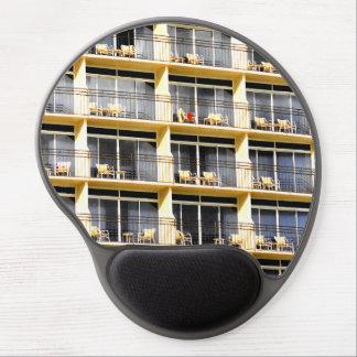 El balcón del hotel preside el ordenador Mousepad Alfombrilla Con Gel