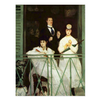 El balcón - Eduardo Manet Postales