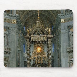 El Baldacchino, el alto altar y la silla Tapetes De Raton