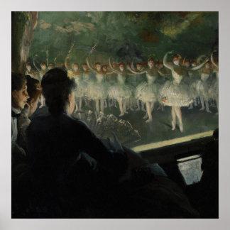 El ballet blanco póster