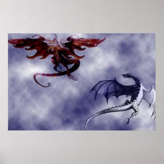El ballet de los dragones - póster