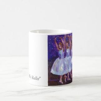 """El ballet del cascanueces """" taza de café"""