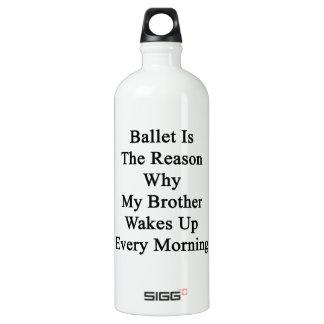 El ballet es la razón por la que mi Brother
