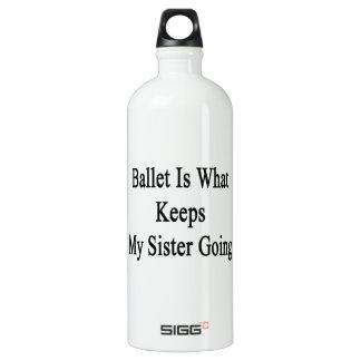 El ballet es qué guarda mi ir de la hermana