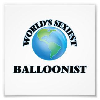 El Balloonist más atractivo del mundo Impresion Fotografica