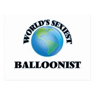 El Balloonist más atractivo del mundo Tarjetas Postales