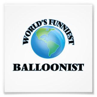 El Balloonist más divertido del mundo Cojinete