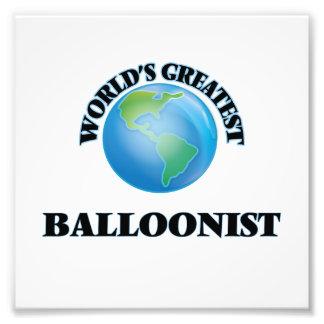 El Balloonist más grande del mundo Fotografias