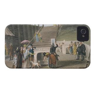 El balneario, placa de 'bosquejos poéticos de Scar Case-Mate iPhone 4 Cárcasas