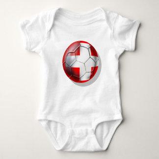El balón de fútbol de Schweiz Suiza aviva los Mameluco De Bebé