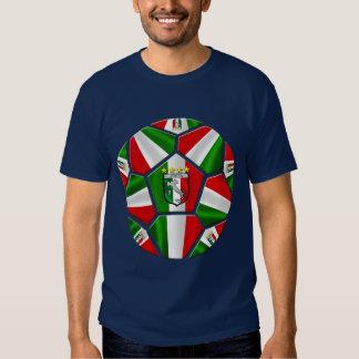 El balón de fútbol italiano moderno artesona los playera