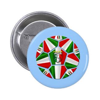 El balón de fútbol italiano moderno artesona los r pin