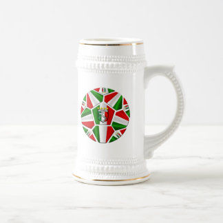 El balón de fútbol italiano moderno artesona los r tazas de café